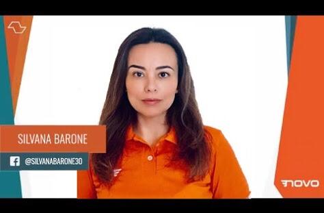 Recado de Silvana Barone Candidata a Deputada Estadual #Vote30530 sobre evento amanhã 25/09 em SãoBernardo!