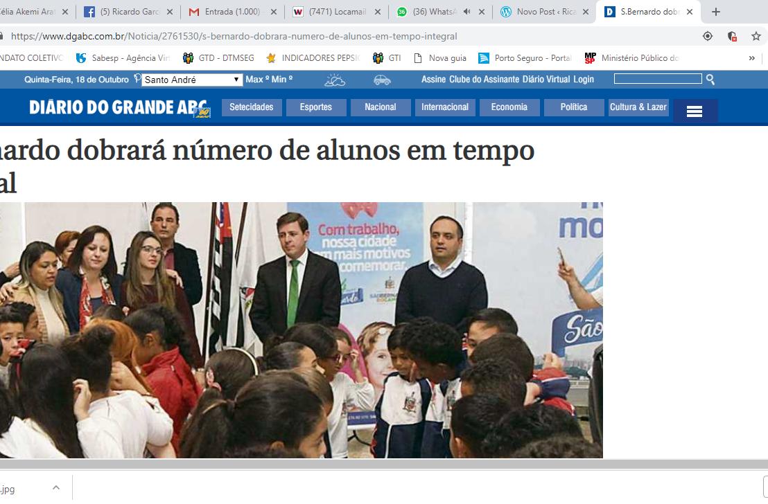 Denúncia: A realidade enfrentada por Mães e crianças em escola Estadual no Município de São Bernardo doCampo-SP