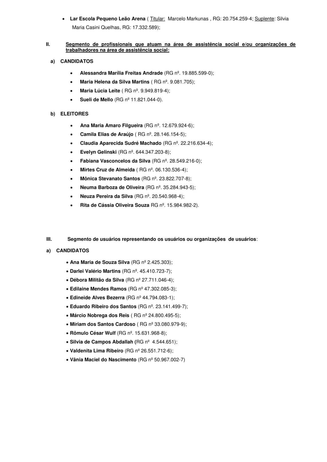 Resolução CMAS 323 15-2