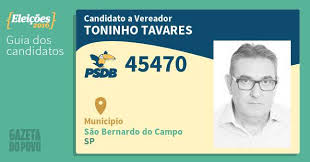 VEREADOR TONINHO TAVARES X NADA XNADA
