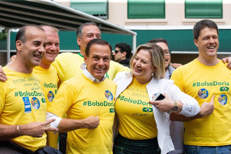 Em nome de Doria e pela Prefeitura de SP, Joice trai JairBolsonaro.