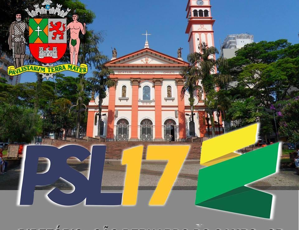 PSL-SBC sucumbiu a velha política ou vai empurrar candidato com Bolsonaro?