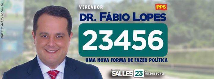 Vr.  Fabio Lopes (Sto. André) emite moção de repúdio a ato do presidente JairBolsonaro.