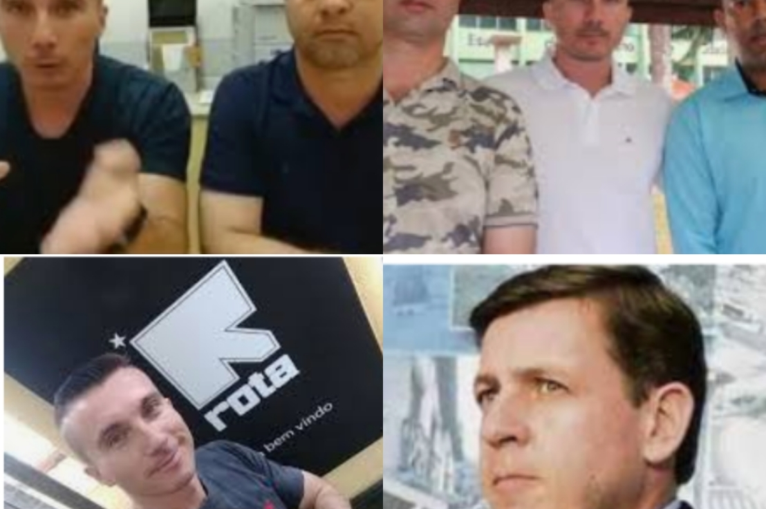 O Policial e ativista Político Fábio Telles trocou detime?