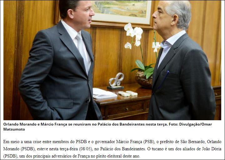 Márcio França volta ao ABC para lançar pré-candidato em S.Bernardo