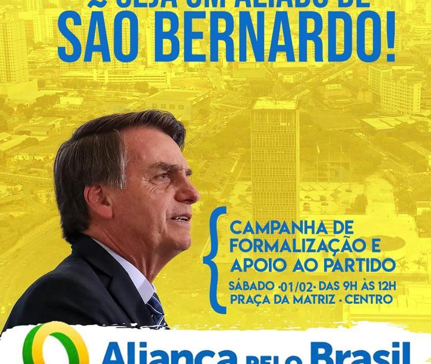 Movimentação em São Bernardo Pró-Aliança! + 1 Partido Político resolverá algumacoisa?..