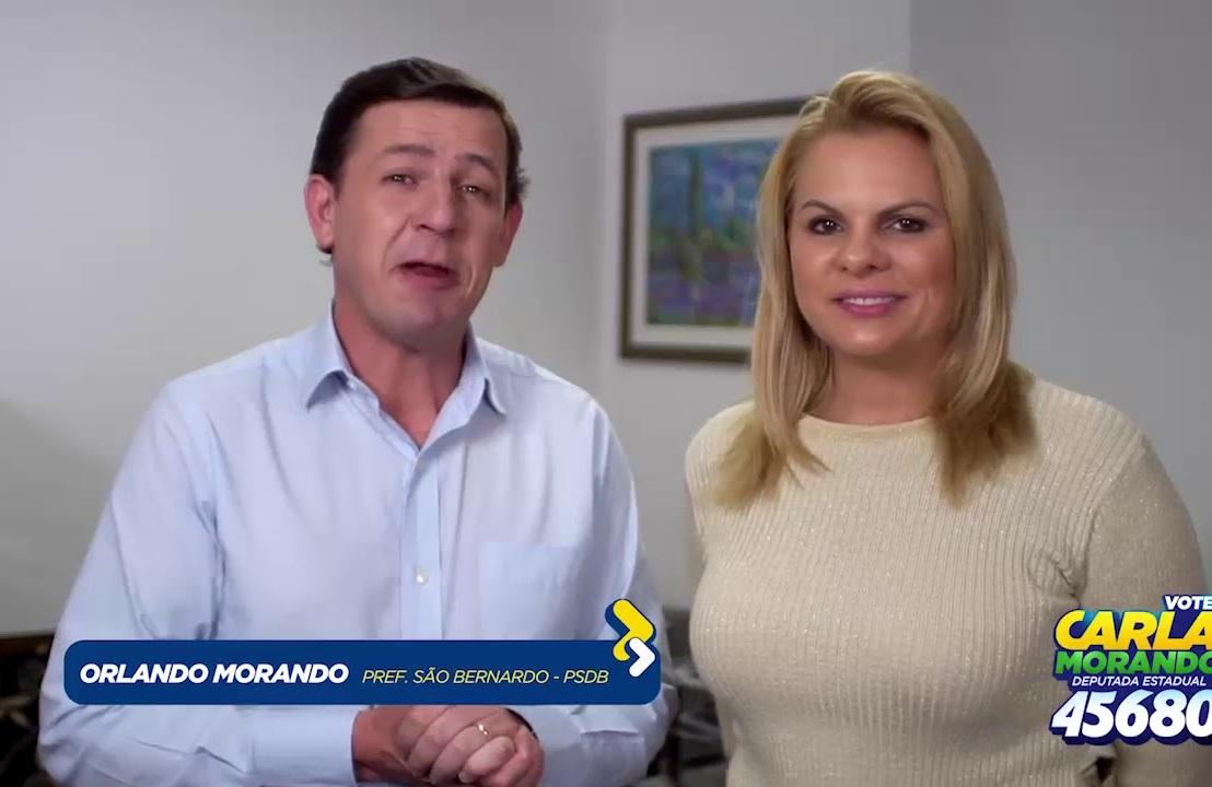 Lavagem de dinheiro: MP pode investigar transações de Carla Morando e Mario deAbreu.