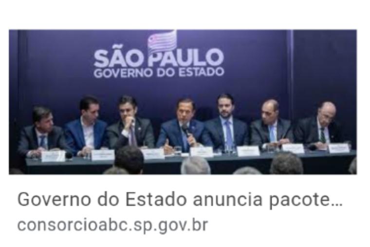 ABSURDO!!!!!Consórcio ABC aguarda decisão do Governo do Estado para bloqueio total naregião