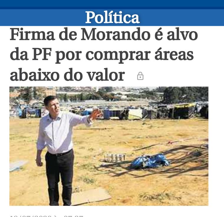 POLÍCIA FEDERAL novamente para cima de OrlandoMorando
